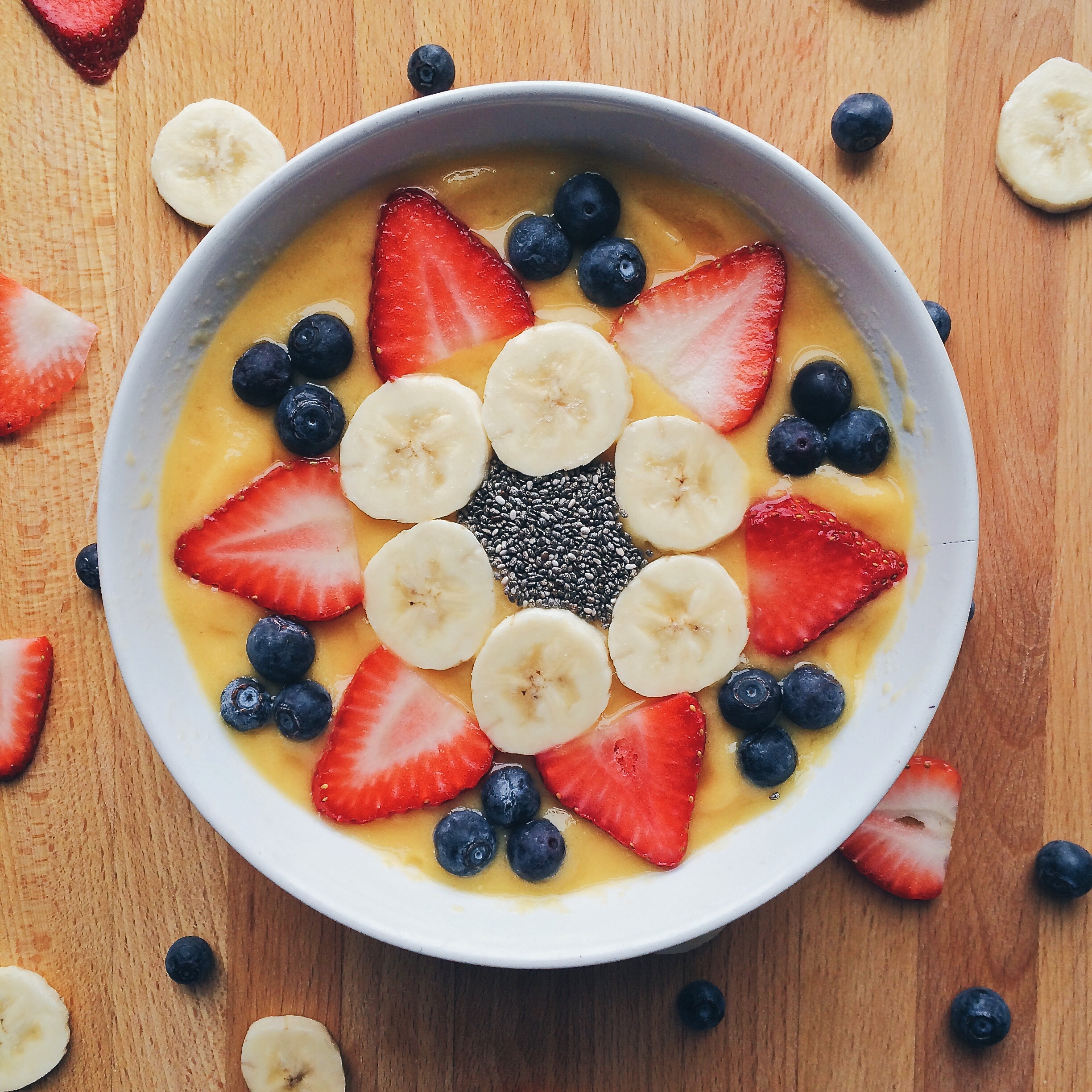 summer s kiss smoothie bowl born and bred in brooklyn